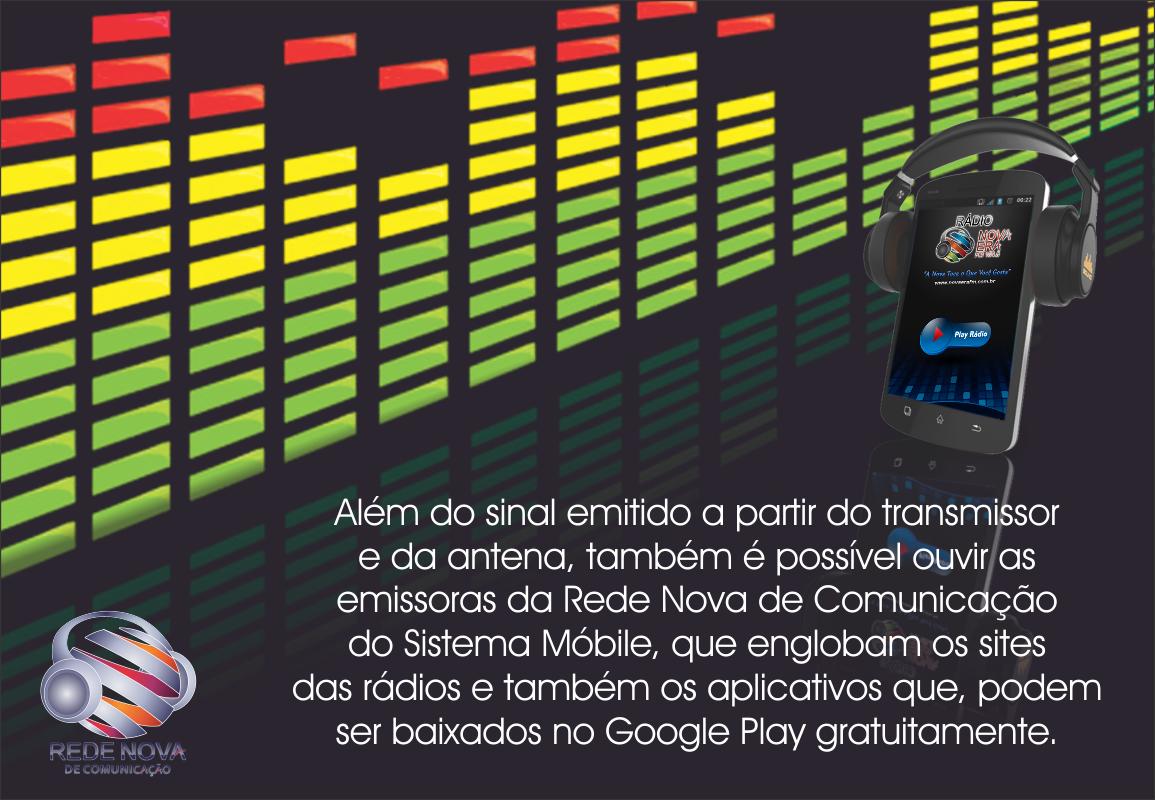 Mais de 15 países já baixaram o aplicativo móvel da rádio Nova Era