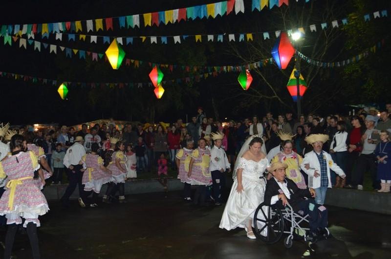 Arraiá da Solidariedade em 2015 (Foto: Divulgação)