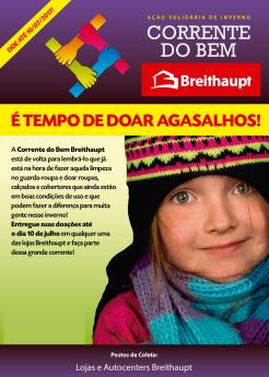 Campanha do Agasalho Breithaupt