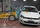 VW Golf nacional recebe nota máxima em teste de colisão