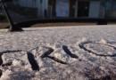 Massa de ar polar chegou provocando frio e a primeira geada do ano