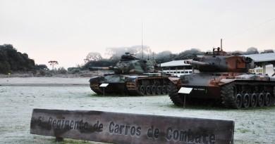 Imagens do dia: Geada em Rio Negro