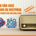 Rádio São José completa 53 anos