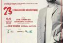 É Hoje: Espetáculo '23' de Paulinho Schoffen em Rio Negro