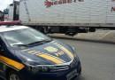 Carreta chilena roubada ontem é localizada na BR 116 em Rio Negro/PR