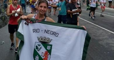 ATLETA RIONEGRENSE PARTICIPOU DA TRADICIONAL CORRIDA DE SÃO SILVESTRE