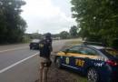 PRF flagra automóvel em velocidade maior que o dobro da máxima na BR 116 em Mafra