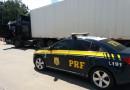 Carreta com mais de 12 mil reais em multas é apreendida na BR 116 em Mafra