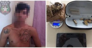 Foragido mafrense é preso na cidade de Joinville.