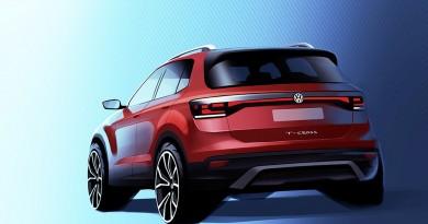 Volkswagen revela imagem do SUV T-Cross, que será produzido no Brasil