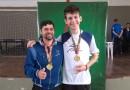Atleta mafrense Lucas Arten é campeão do Jesc no Badminton