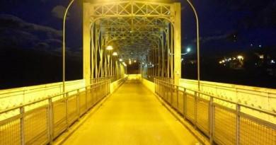 Prefeitura de Rio Negro Anuncia Melhorias Da Ponte Metálica Dr. Diniz Assis Henning