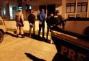 Ação conjunta PRF e PM prende de uma só vez três homens com mandado de prisão na BR 116 em Mafra