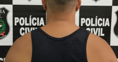 Polícia Civil prende assaltante de Posto de Combustível
