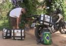 Sonho de motociclista: Policial faz viagem de 12 mil km entre Brasília e Atacama