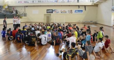 Peneira sub-20 do Mafra Futsal movimentou mais de 100 atletas neste final de semana