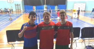 Badminton: Mafrenses brilham em Curitiba