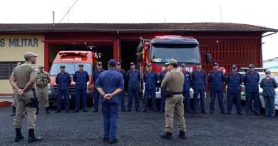 Polícia Militar e Corpo de Bombeiros realizam operação integrada em SC