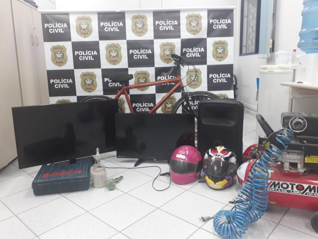 Fonte/Foto: Polícia Civil de Mafra