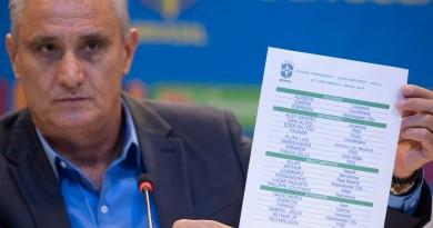 Tite divulga convocação do Brasil para a Copa América