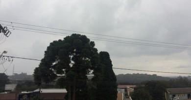 Defesa Civil emite alerta para temporais e chuva volumosa em SC