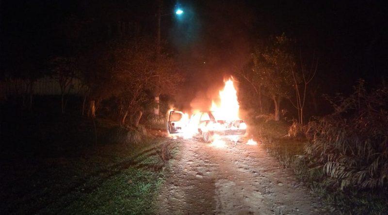 Mafra: Incêndio em Veículo