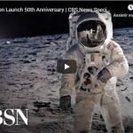 CBS publica transmissão original do lançamento da Apollo 11