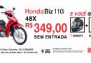 Promoção de Inverno na Honda Strack Motos
