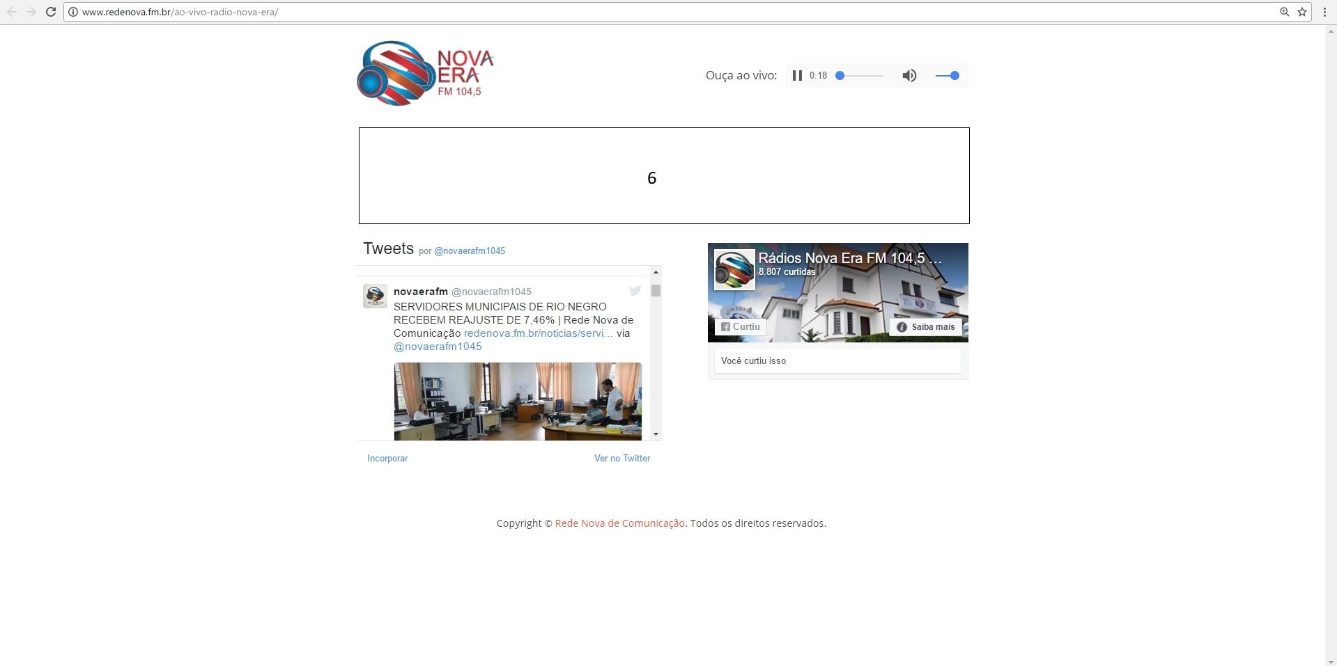 Site Rede Nova 05