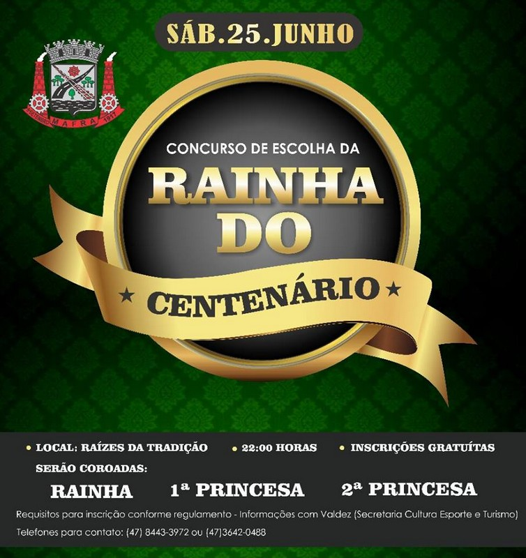 Abertas as inscrições para o concurso da rainha e princesas do centenário de Mafra