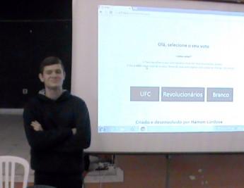Aluno-desenvolveu-programa-de-informática-para-eleição-eletrônica-de-Grêmio-Estudantil-em-Rio-Negro