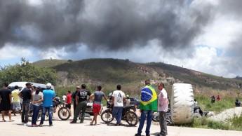 Conflito em Pacaraima - RR  (Foto: João Kleber/Folhapress)